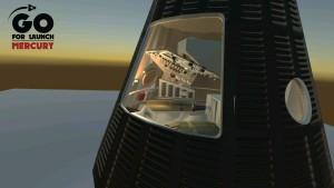 Mercury Freedom 7 Exterior